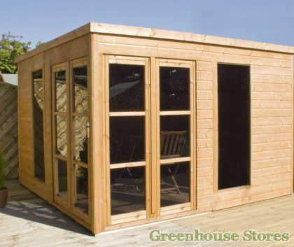Cotswold 10x10 garden room office shedoftheyear http for 10x10 office ideas