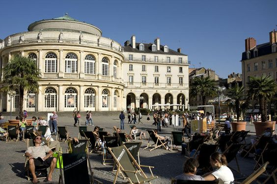 Opéra, Rennes, Bretagne, France