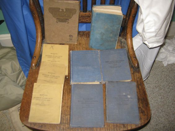 WW1 military manuals World War one army by MuddyRiverIronWorks, $175.00, entertaining offers on this collection.