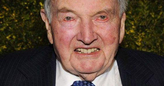 DAVID ROCKEFELLER RESPONDS TO CONSPIRACY OF 'NEW WORLD ORDER' : SAYS IT'S TRUE - David Rockefeller is a part of American history and the only billionaire in the world who is over 100 years old. The richest oldest man on the planet is due to turn 101 in June. He is part of a family dynasty whose name is associated with America and has become legend. His... #bilderberggroup: