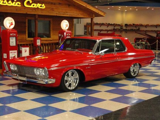 1963 PLYMOUTH FURY RESTO-MOD CUSTOM