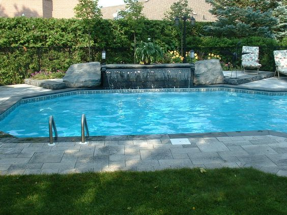 Designer Pools And Spas custom built residential commercial and municipal swimming pools spas hot tubs pool Backyard Lookbooks Feature Company Profiles Photos Of Backyard Designs Pools Spas Patios Pool Landscaping Contractors For Inspiration On Backyard