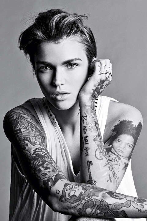Ruby Rose Relates To Gender Fluidity That We Discussed During Our Lecture On Gen Discussed Fluidity Gen Gender Lecture R Ruby Rose Pretty People Beauty