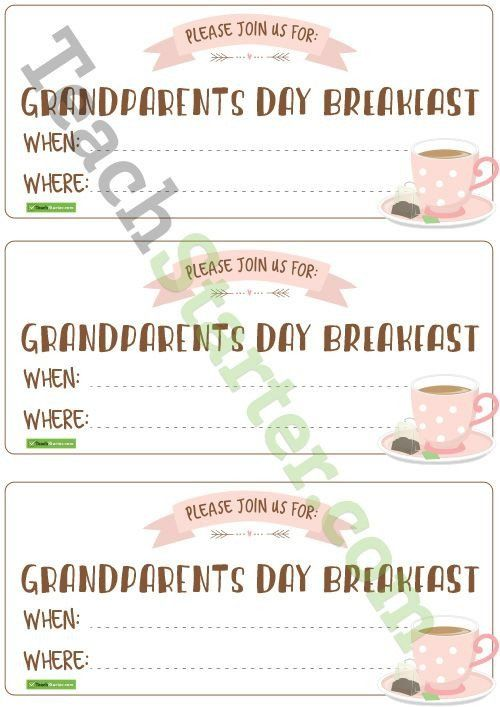 National Night Out Invitation Template Grandparents Day Invitations Teaching Resource Grandparents Day Activities Grandparents Day Grandparents Day Crafts