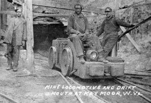 Mine entrance at Kaymoor, WV