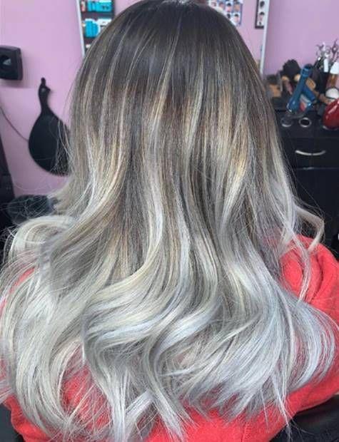درجات لون صبغة اومبري بلاتيني اشقر الطريقة و الاسعار و الالوان Ombrehair Hairstyles Haircolor Haircoloring Ombre Hair Color Long Hair Styles Hair Styles