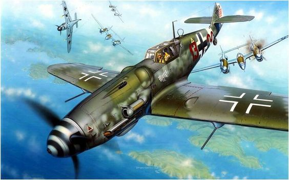 """Messerschmitt Bf 109G-6/R6 Trop, """"Marga"""", III/ JG 27, Ofw Heinrich Bartels"""