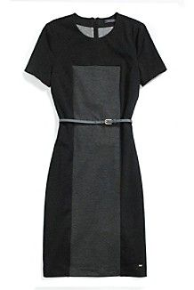 COLORBLOCK PONTE DRESS $229.00
