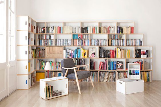 estanteria modular brickbox grandes librerias de pared