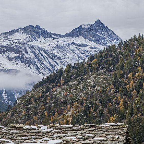 #Herbst #Schweizer #Alpen #Schweiz #Wallis #Baltschiedertal