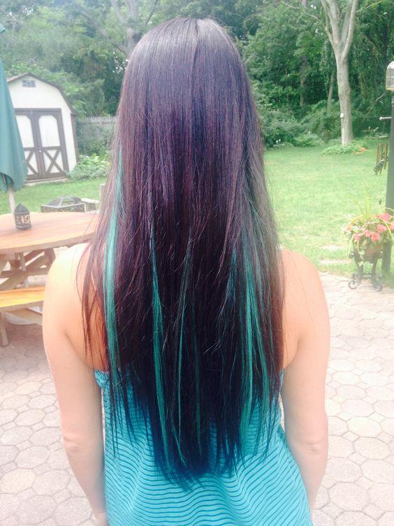 Aqua hair #elektra