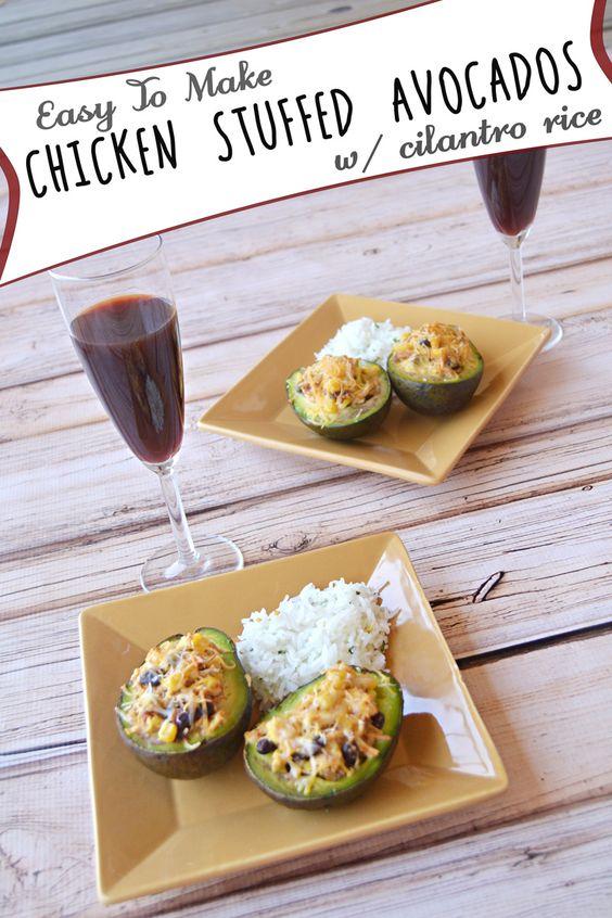 #ad Enjoy @effortlessmoms chicken stuffed avocados recipe #InspireMyDinner http://cbi.as/p-29z #SoFab #shop