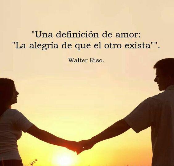 Amor: la alegría de que el otro exista