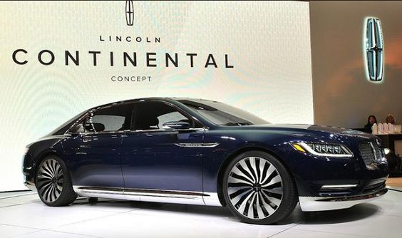 2018 Lincoln Continental Release