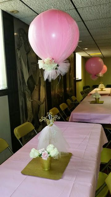 Tulle balloons and on pinterest