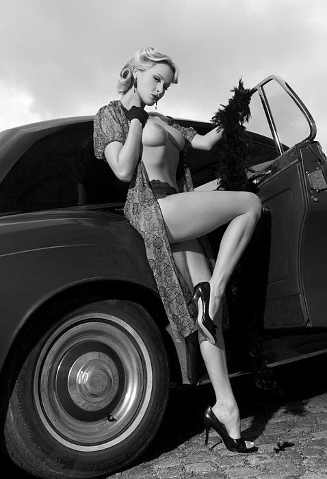 Women & Old Cars
