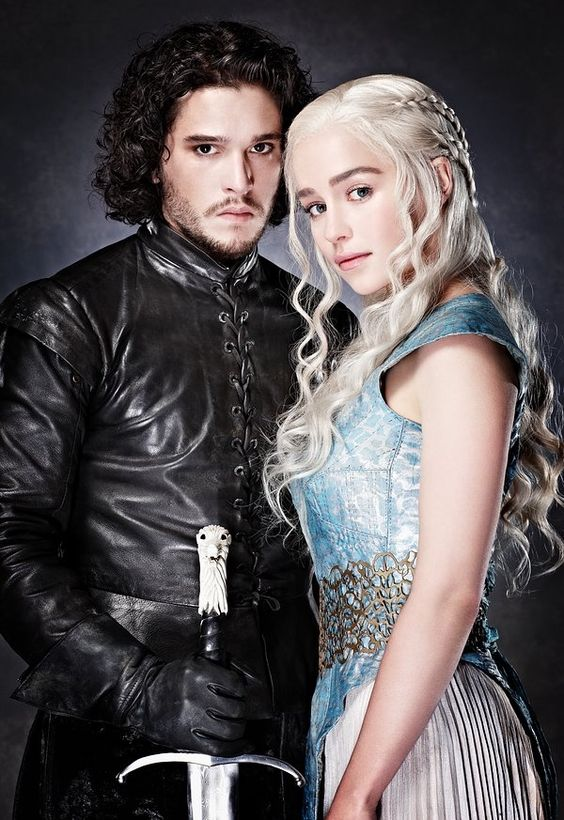 Jon Snow and Daenerys Targaryen More