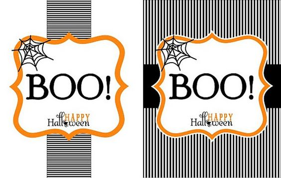 You've been BOOed  Choose from 9 different versions. All Cute!  Halloween Treats  Boo-ed: Fun Ideas Secret, Cute Halloween Treats, Halloween Costume Ideas, Booed Fun, Gift Ideas, Fun Treats, Halloween Crafts, Craft Ideas, Boo Basket