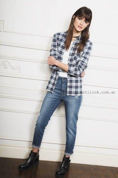 Casual Con, Moda Casual, Moda Mujer, Jeans Otoño, Con Jeans, Otoño Invierno 2016, Moda Invierno, Moda Sud, Moda De