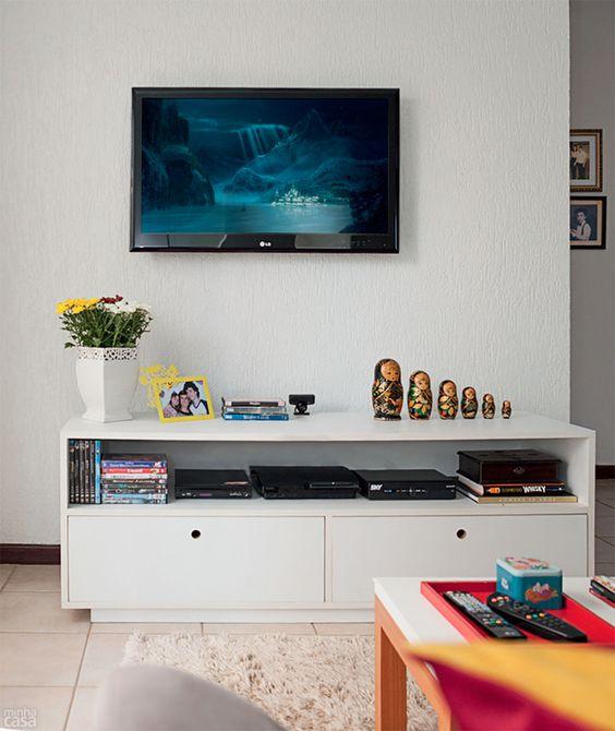 Sala De Tv Simples E Aconchegante ~  jantar e brinquedoteca no mesmo ambiente  Dicas e truques e Simples