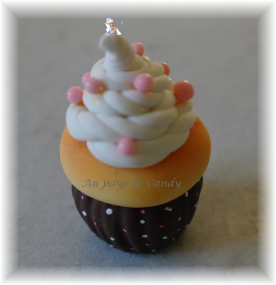 cupcake porcelaine froide