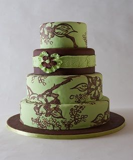 colors: Groom S Cake, Brown Wedding Cakes, Cakes Cupcakes, Green Wedding Cakes, Groom Cake, Gold Wedding