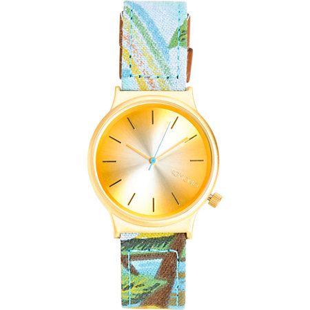 Komono Wizard Print Bora Bora Analog Watch