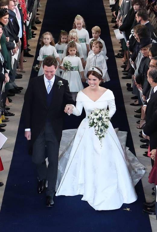 Die Hohepunkte Der Hochzeit Von Eugenie Und Jack Konigliche Hochzeitskleider Royale Hochzeiten Prinzessin Eugenie