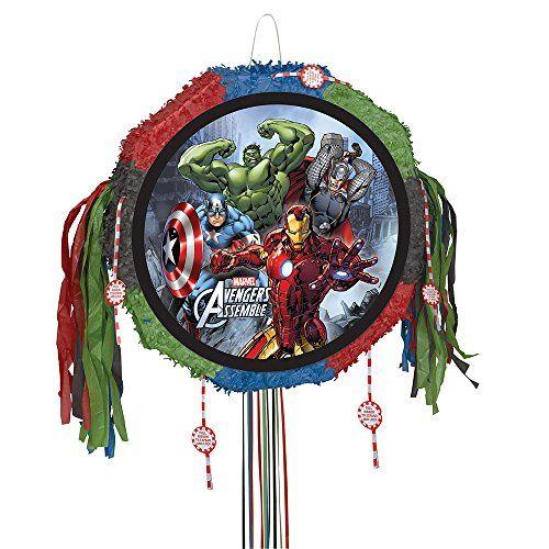 Marvel Avengers Pinata, Pull String