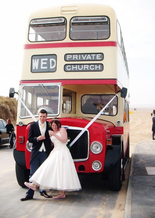 See Guests Arrive In Style Aboard Immaculate Vintage Wedding Buses Or Coaches Classic Vehicles Of Yesteryear From Yorkshire Heritage Bus Company