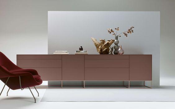 Wohnmöbel, Moderne sideboard hängend weiß hochglanz mit gepaart