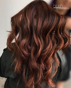 37 Best Red Highlights In 2020 For Brown Blonde Black Hair Balayage Hair Red Balayage Hair Red Highlights In Brown Hair