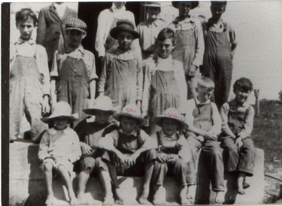 Miller Students,1920. Submitted by Debbie Miller!