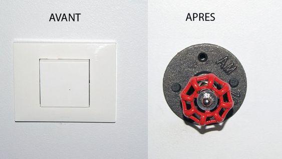 Interrupteur Vanne Interrupteurs Boite Electrique Vannes