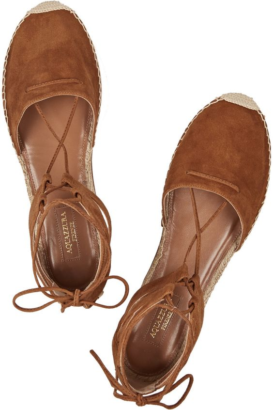 Leather espadrilles... Love it !!!: