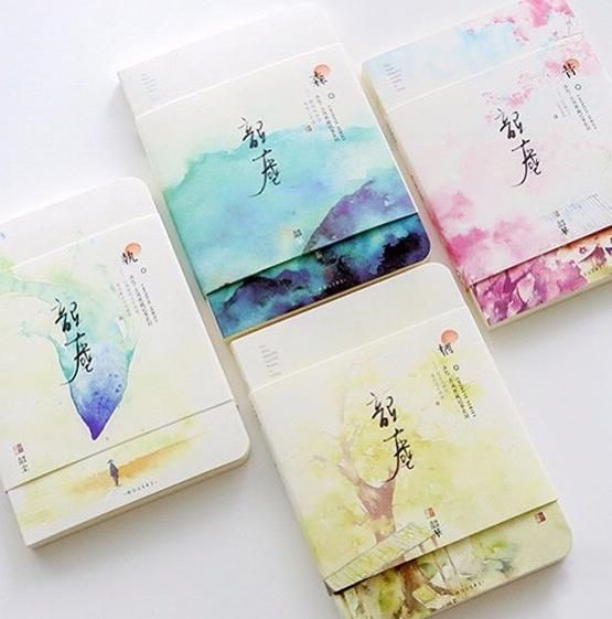 Japanese Watercolor Landscape Sketchbooks Japanese Watercolor