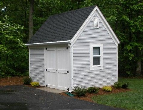 Small storage sheds lowes like these doors open wide for Garden sheds lowes