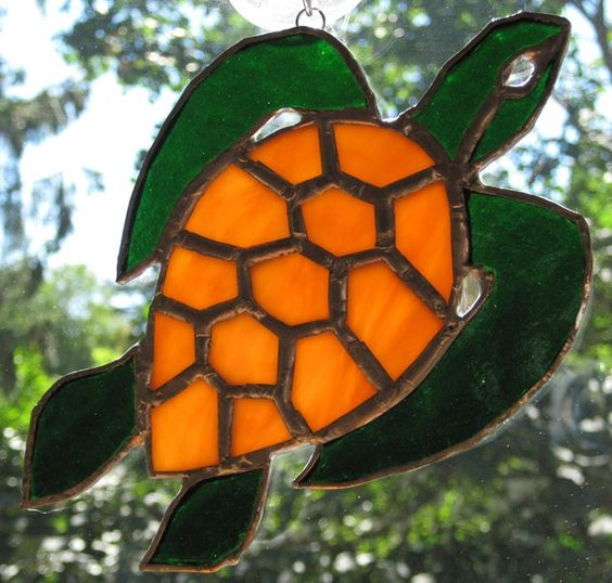 Stained Glass Stained Glass Patterns And Turtles On Pinterest