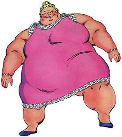 S Black Female Cartoon Characters : Female cartoon characters fat