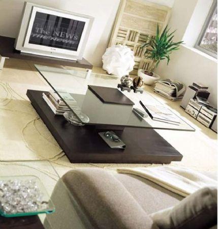 Mesa de centro fox mesas de centro modernas for Mesas de centro modernas