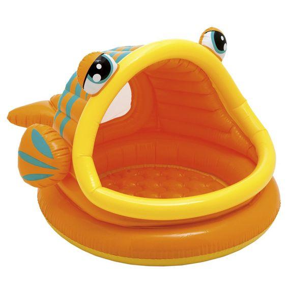 Intex Lazy Fish Baby Paddling Pool or Ball Pond #57109