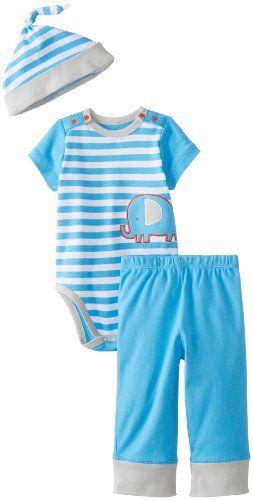 Offspring - Baby Apparel Boys Infant Elephant Bodysuit and Pant Set  #Apparel, #Baby, #Bodysuit, #Boys, #Elephant, #Infant, #Offspring, #Pant #BlackFriday