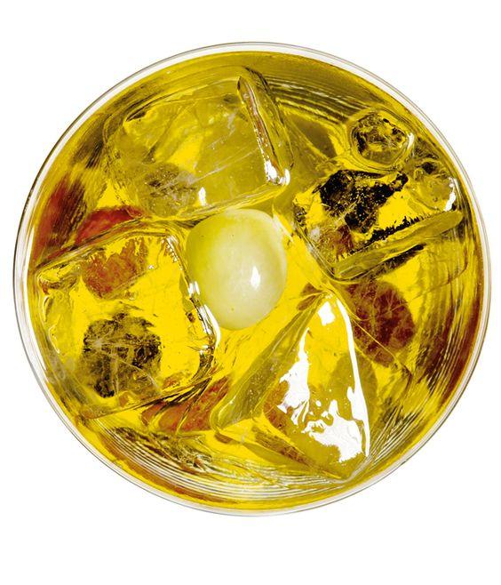 Grüner Tee, Lime Juice, Trauben
