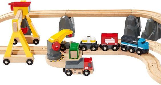 Brio Cargo Railway Deluxe Set - Educational Baby Toys Reviews