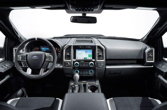 2017 ford f150 raptor dashboard