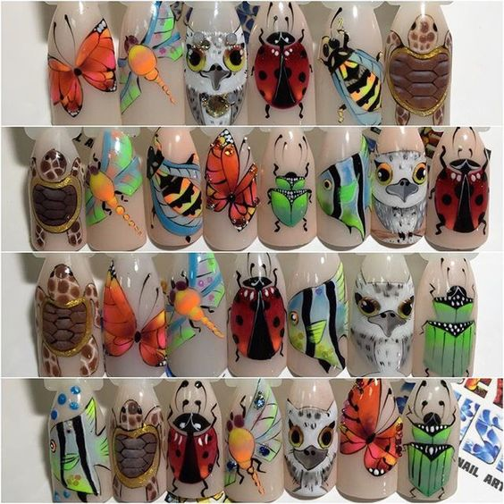 #nails #nailart #роспись_гель_лаками