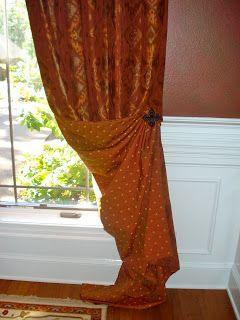 Sew Bee It: Side Panels - Timeless Window Treatments; i like this only not so fancy...