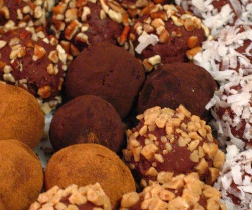 Easy Decadent Truffles Recipe - Dessert.Food.com
