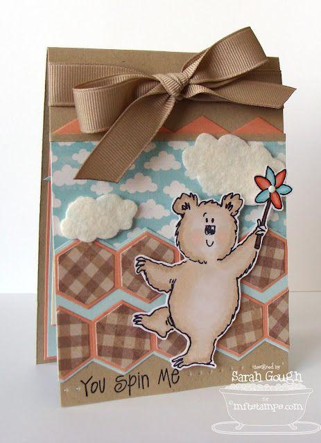 Fred Bear and the Pinwheel - Sarah Gough