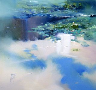 Robert Knight - Lilly Pond light